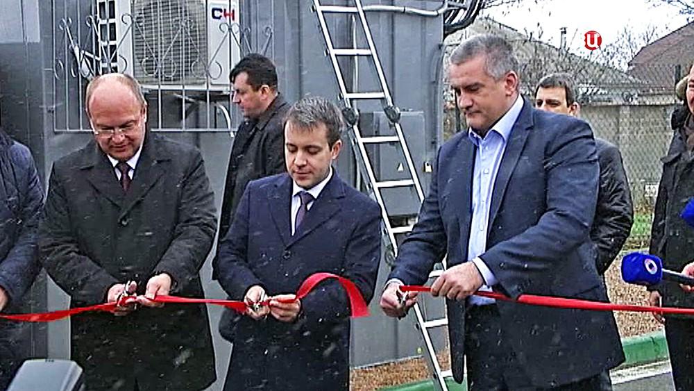 Сергей Аксёнов запустил первую очередь сети мобильной связи стандарта LTE в Крыму