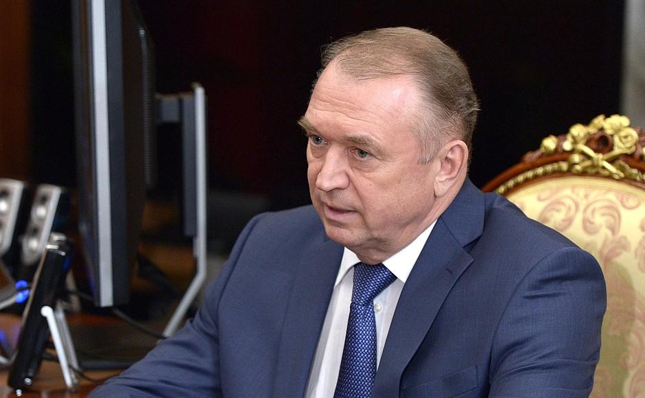 Глава Торгово-промышленной палаты Сергей Катырин