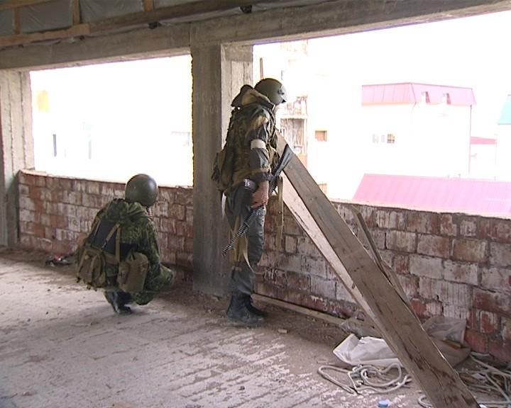 Спецоперация по ликвидации боевиков