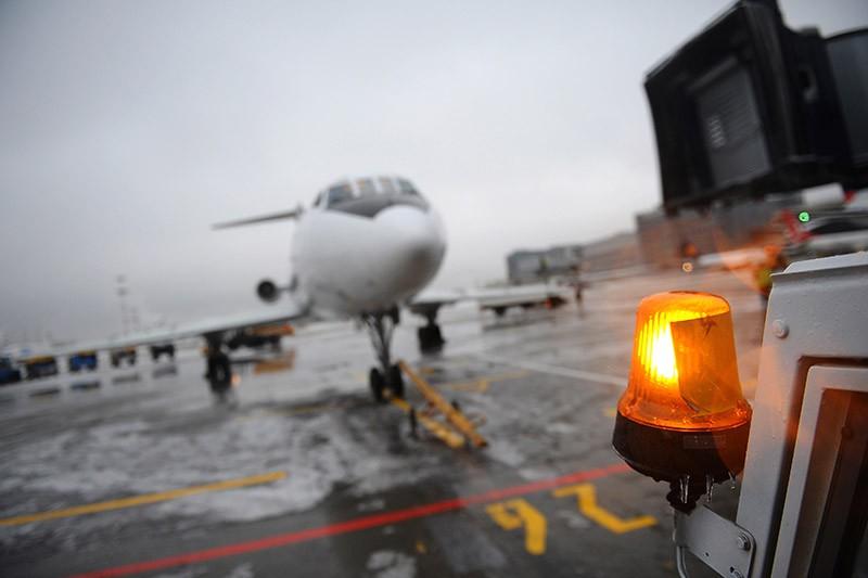 Снегоуборочная техника на территории аэропорта