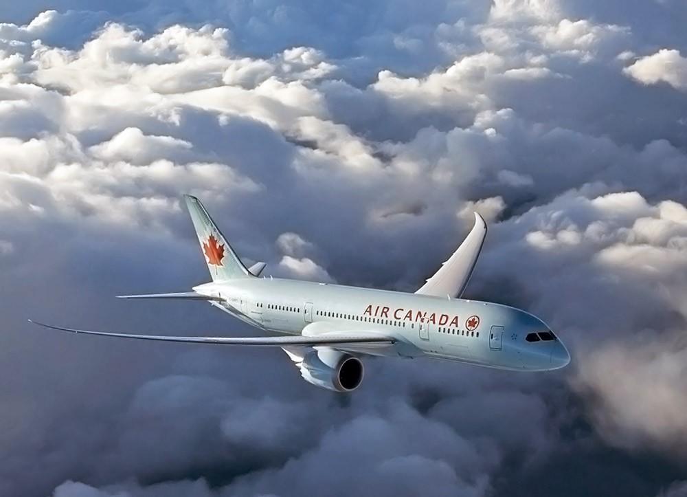 Самолет авиакомпании Air Canada