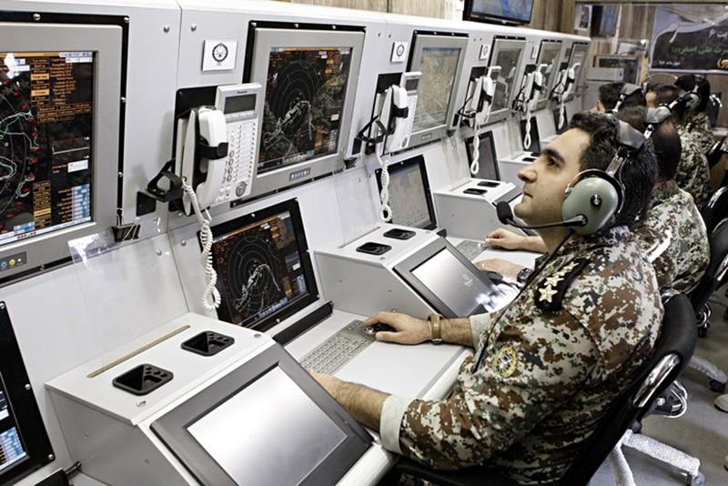 Центр управление ПВО Ирана