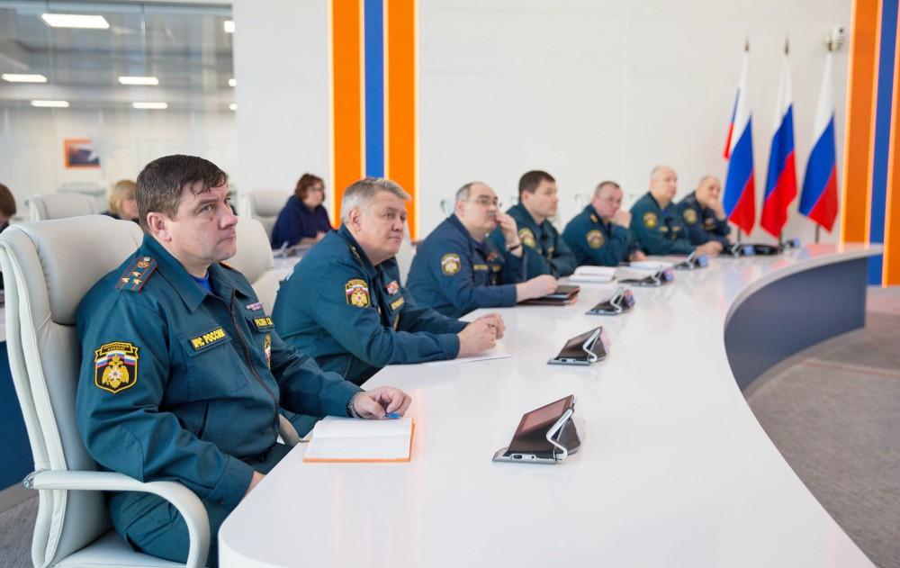 Заседание в МЧС