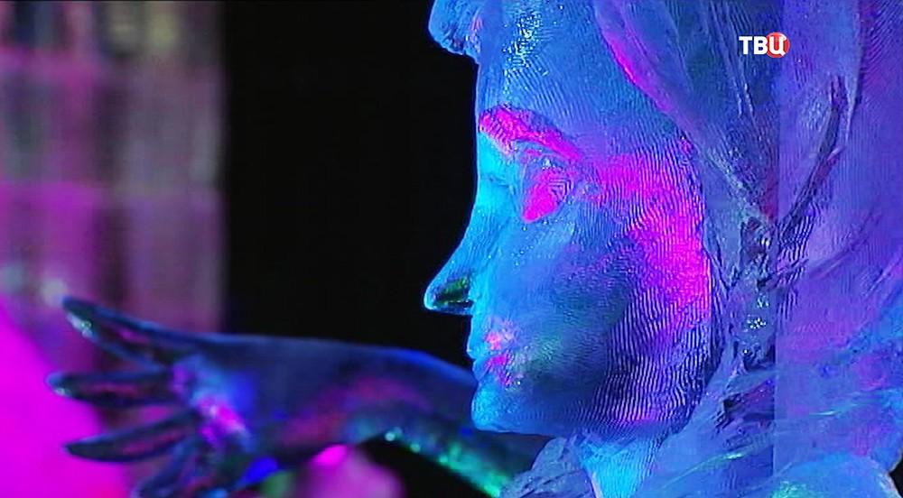 Экспозиция ледяных скульптур