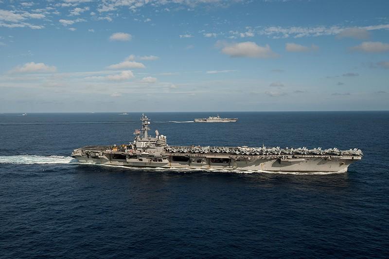 """Авианосец """"Рональд Рейган"""" ВМС США"""
