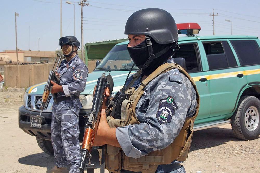 Полиция Ирака