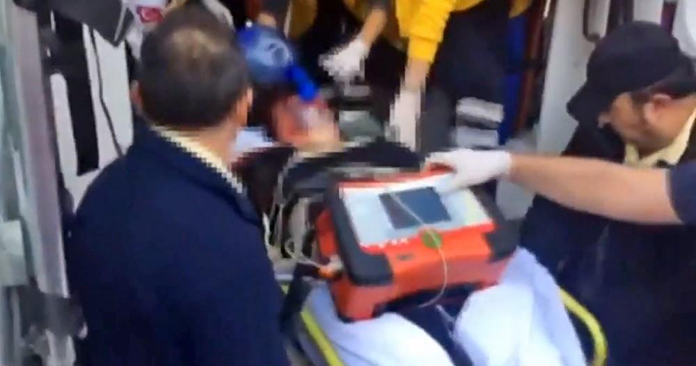 Пострадавший при взрыве в Стамбуле