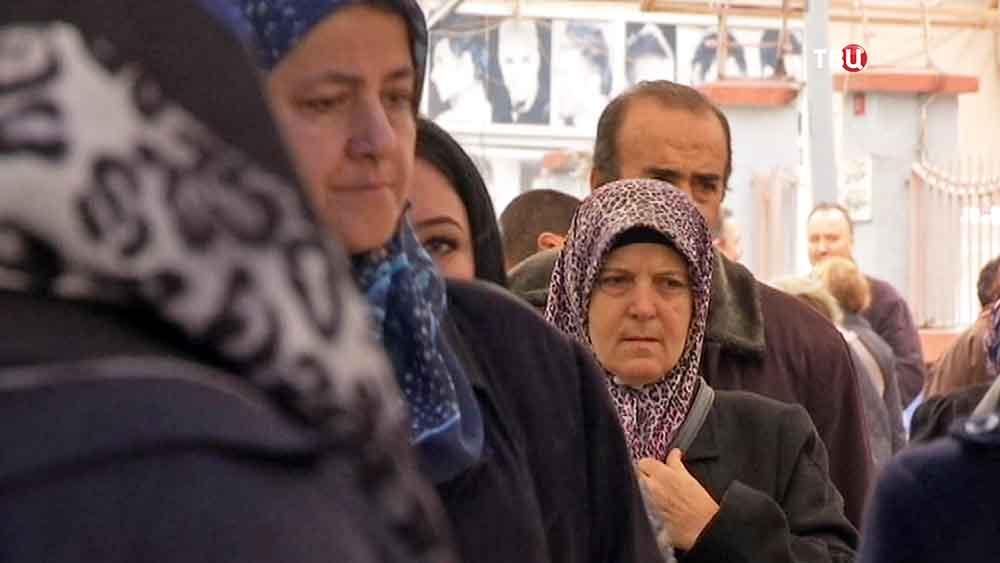 Жители Турции