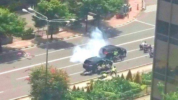 Взрывы в Индонезии