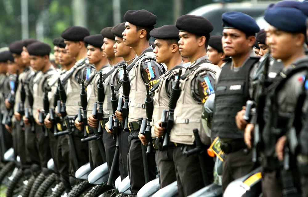 Полиция Индонезии