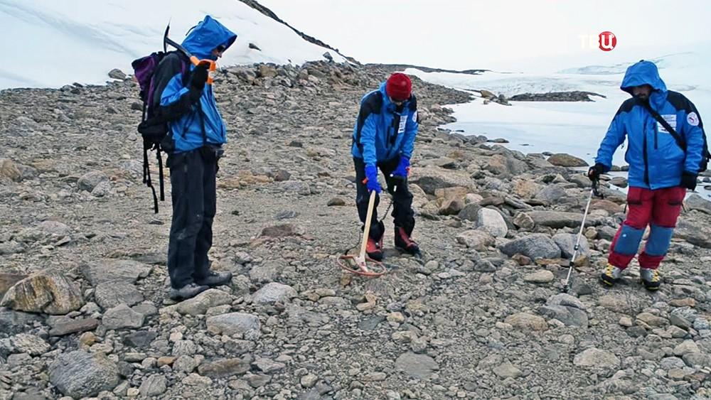 Метеоритная экспедиция  в Антарктиду