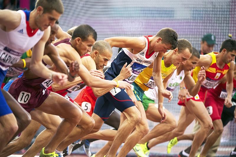 Соревнования по бегу