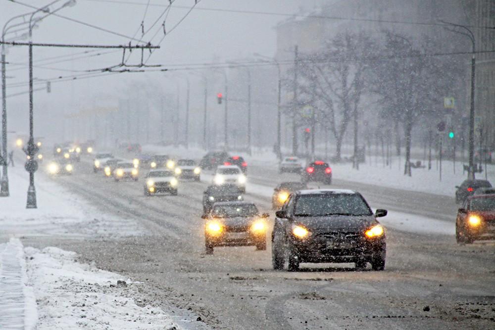 Минувшая ночь в российской столице стала самой холодной сначала осени