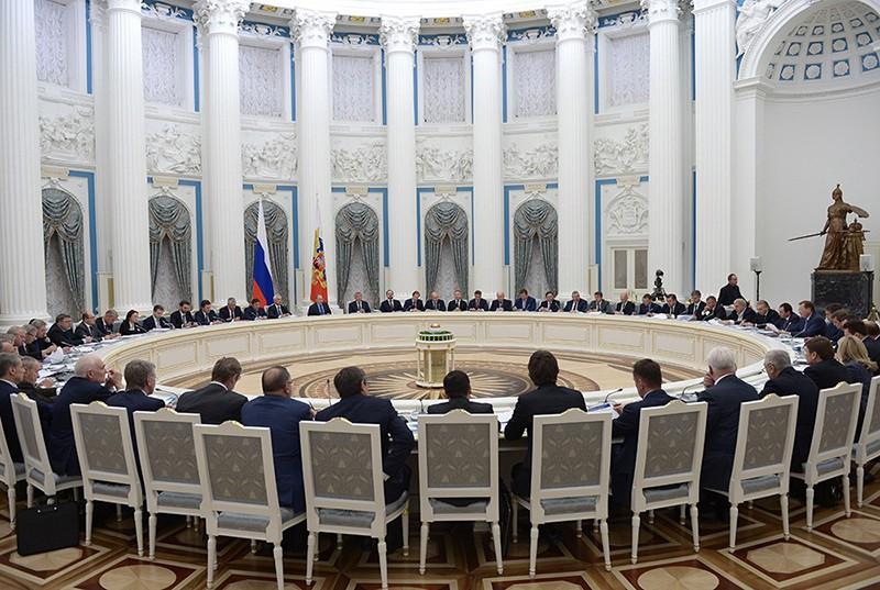 Заседание Комиссии при президенте РФ по вопросам стратегии развития топливно-энергетического комплекса