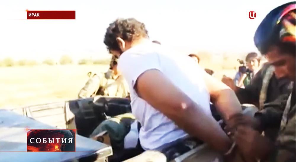 Пленный группировки ИГ