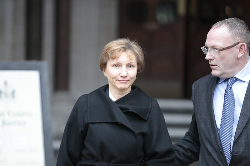 Марина Литвиненко, вдова Александра Литвиненко