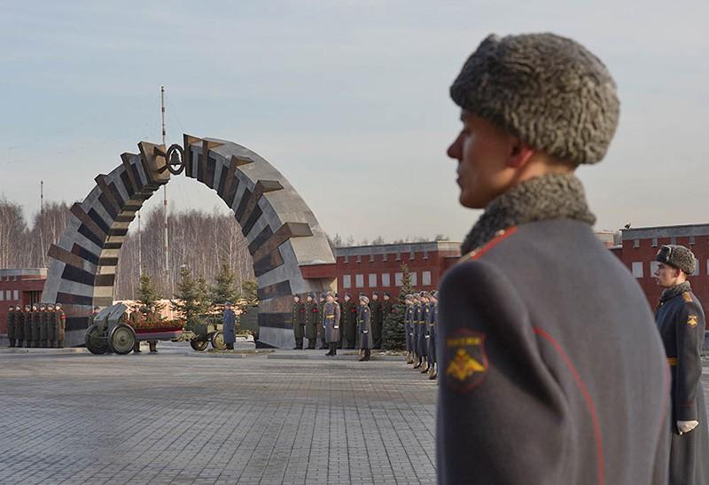 Пантеона Героев Федерального военно-мемориального кладбища в Мытищах