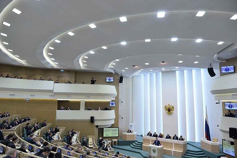 Пленарное заседание Совета Федерации Российской Федерации