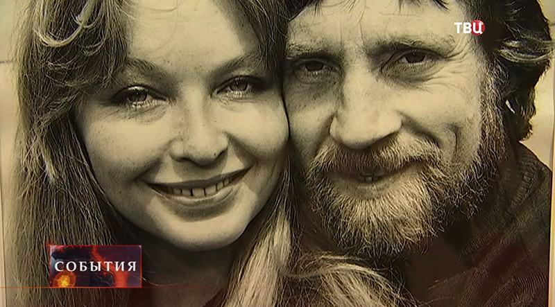 Фото Владимира Высоцкого и его жены