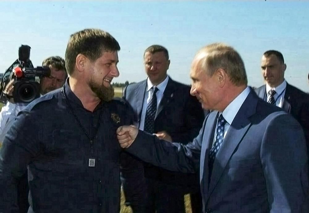 Image result for Кадыров и Путин фото