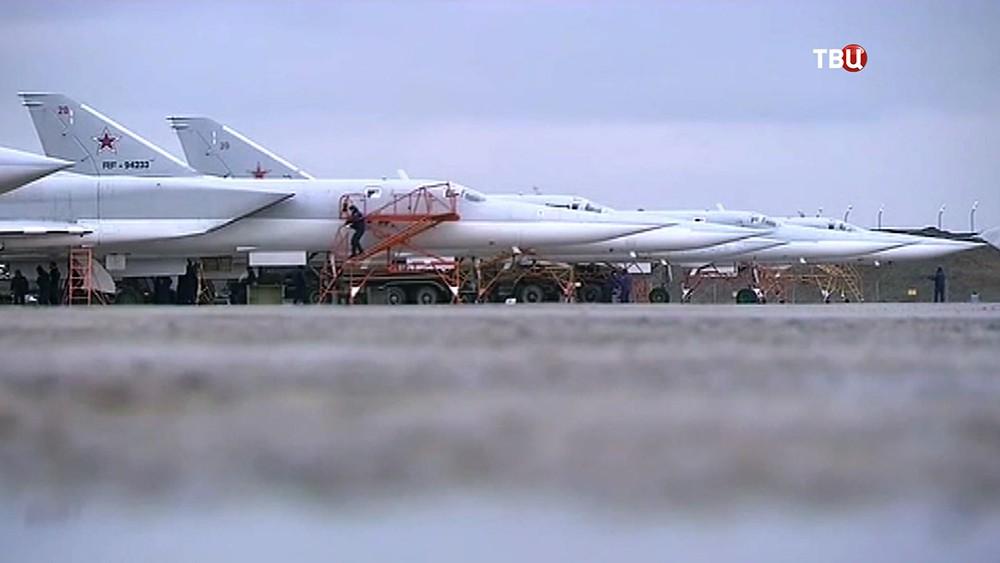 Бомбардировщики Ту-22М ВКС России