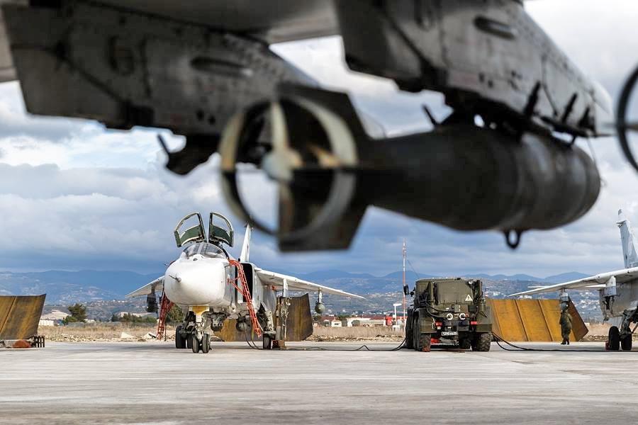 Боевое оснащение бомбардировщиков ВКС России
