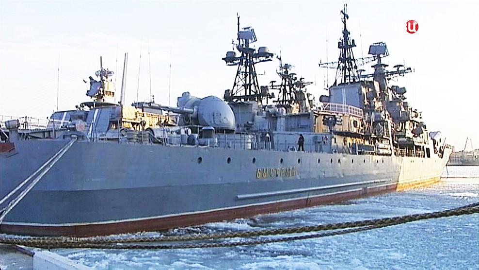 """Эсминец """"Быстрый"""" Тихоокеанского флота"""