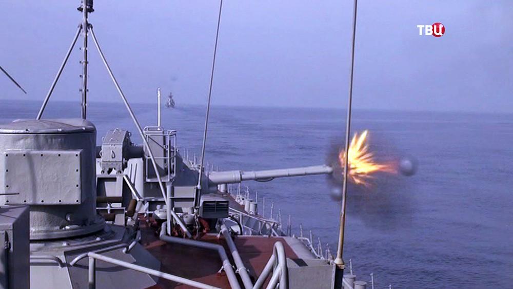 Боевые стрельбы кораблей ВМФ России