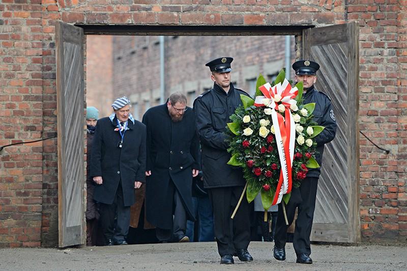 Траурные мероприятия посвященные памяти жертв Освенцима