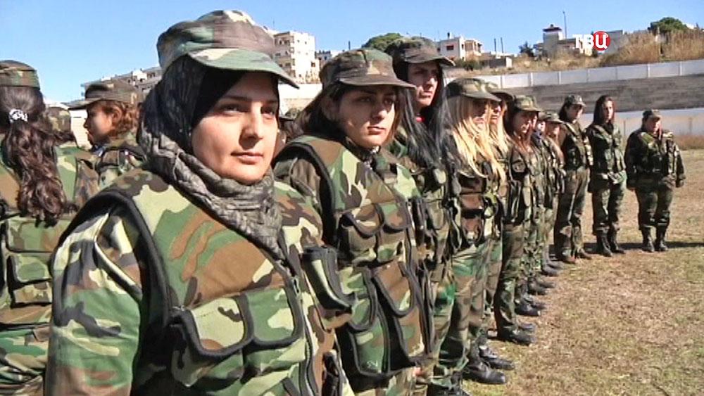 Женский добровольческий батальон в Сирийской армии
