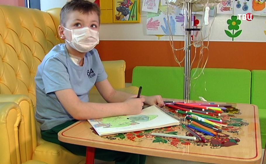 11-летний Арсений Леньшин в больнице