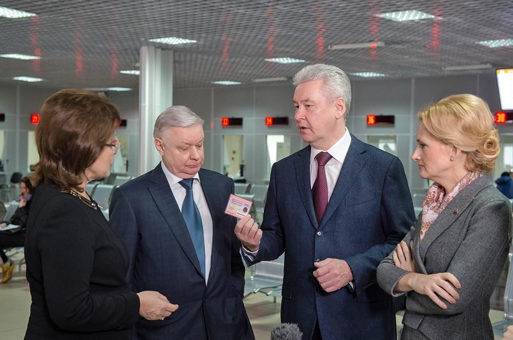 Сергей Собянин посетил многофункциональный миграционный центр