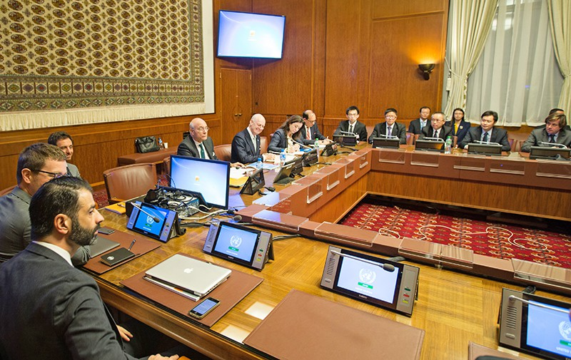 Переговоры в Женеве по урегулированию сирийского конфликта