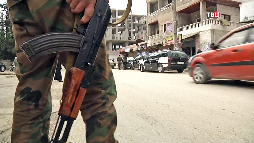Военная обстановка в Сирии