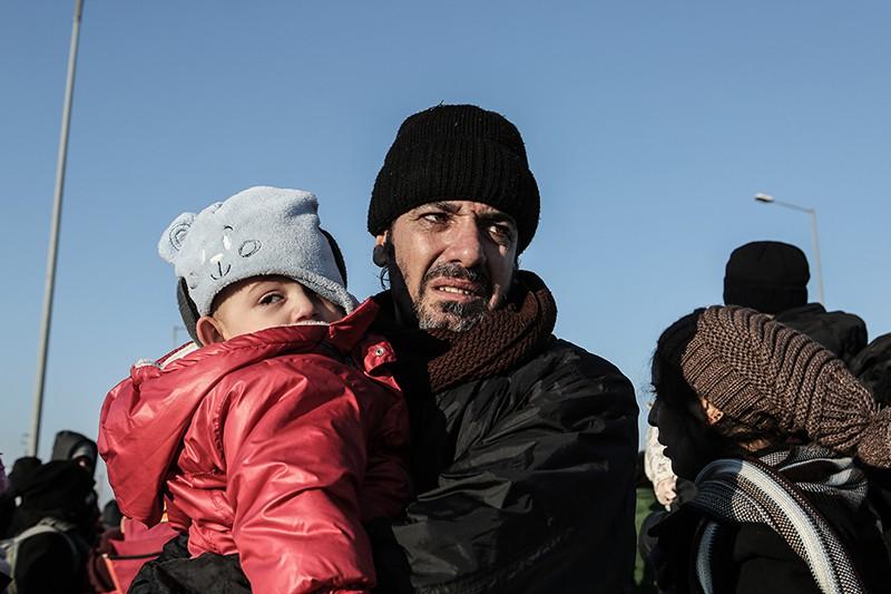 Мигранты в Европе