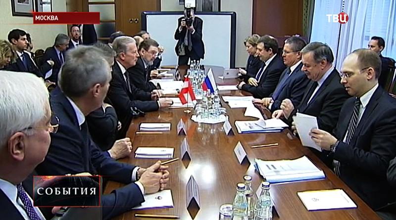 """Россия и Австрия обсуждают проект """"Северный поток-2"""""""