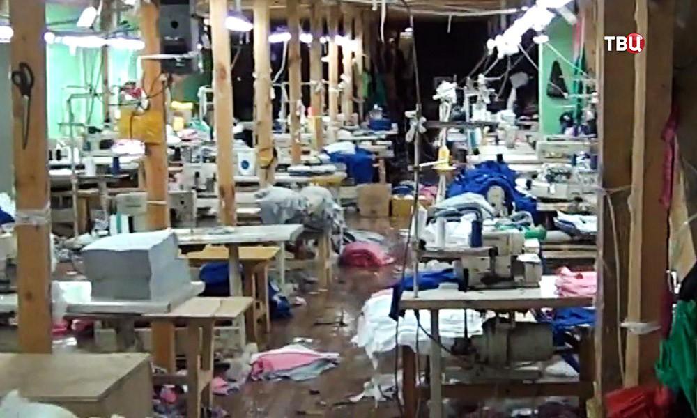 Подпольный швейный цех
