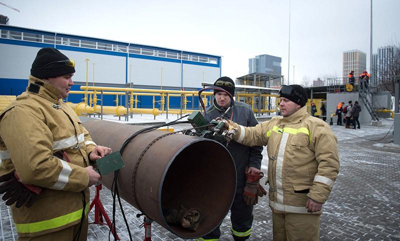 Сергей Собянин осматривает Московскую газораспределительную систему