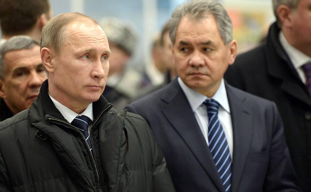 Владимир Путин и Сергей Шойгу