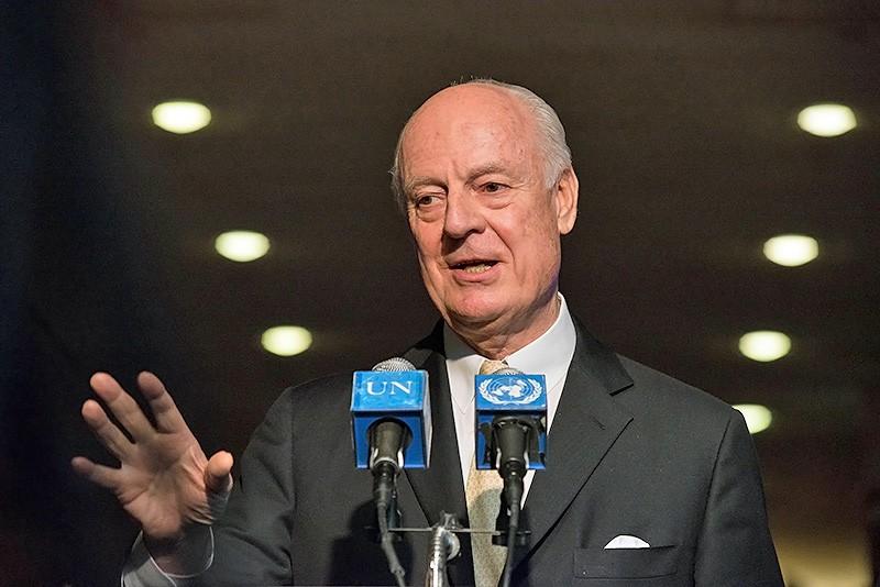 Стаффан де Мистура: Переговоры в Астане привели к конкретным результатам