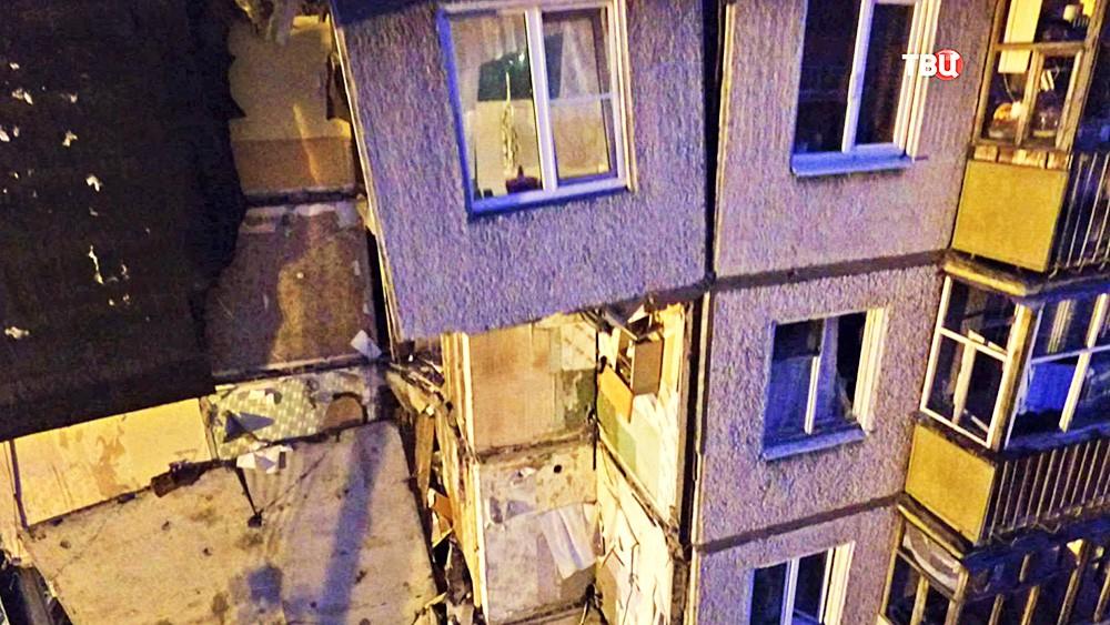 Последствия обрушения многоквартирного дома в Ярославле