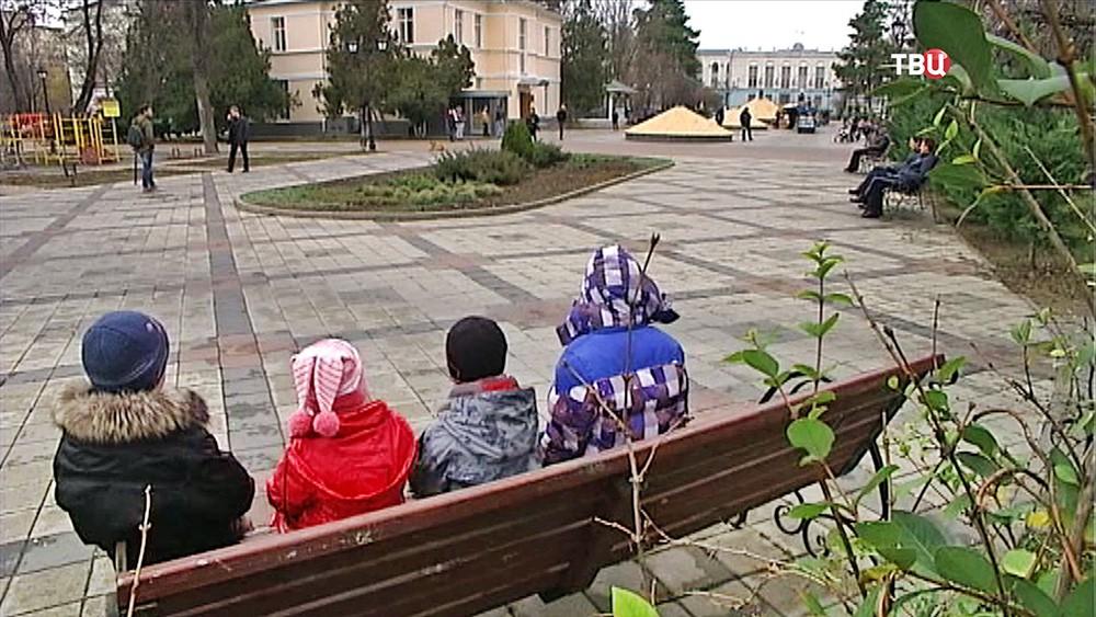 Дети в Крыму