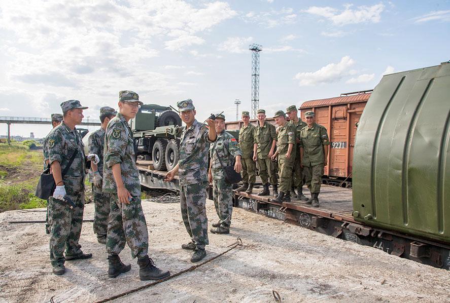Военнослужащие армии Китая