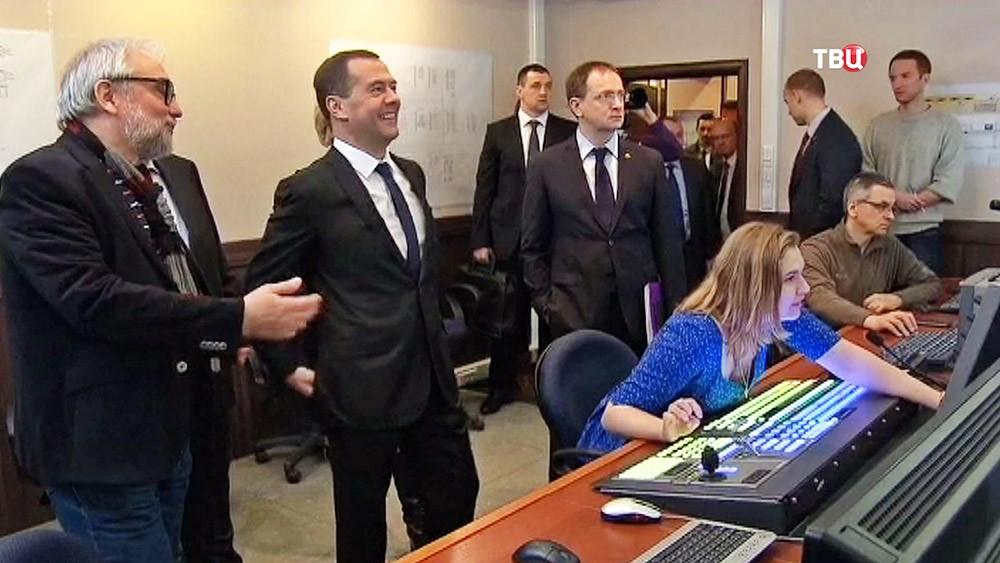 Дмитрий Медведев посетил ВГИК