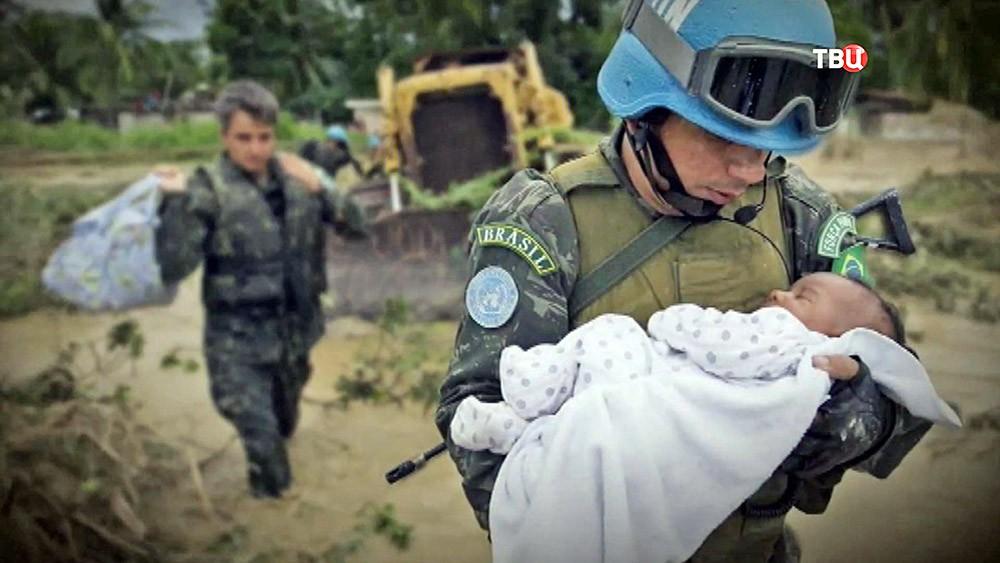 Миротворцы ООН в Бразилии
