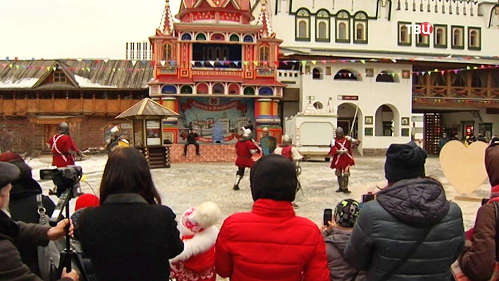 Сражения рыцарей в Измайловском Кремле