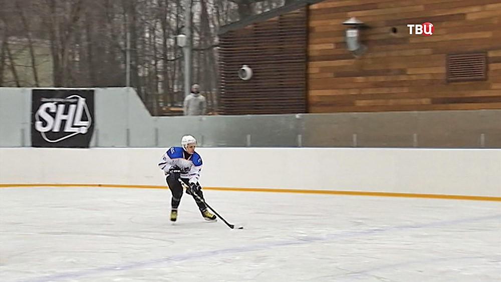 Матч Звезд на ледовой арене ВДНХ