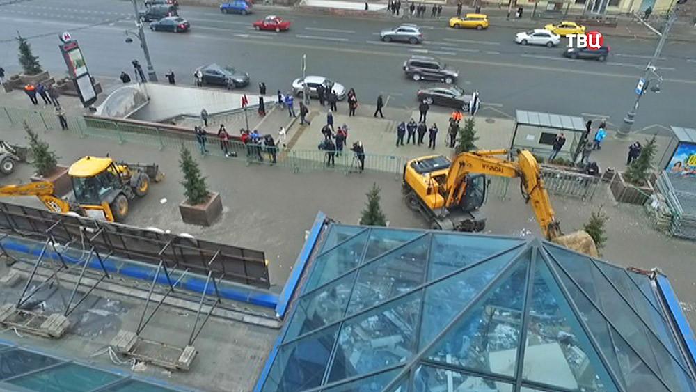 """Снос ТЦ """"Пирамида"""""""