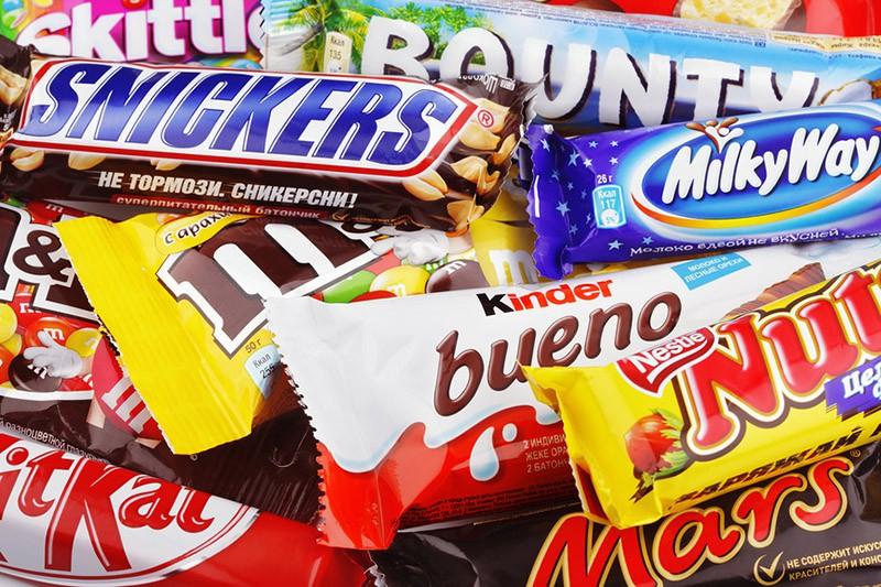 шоколадные батончики фото