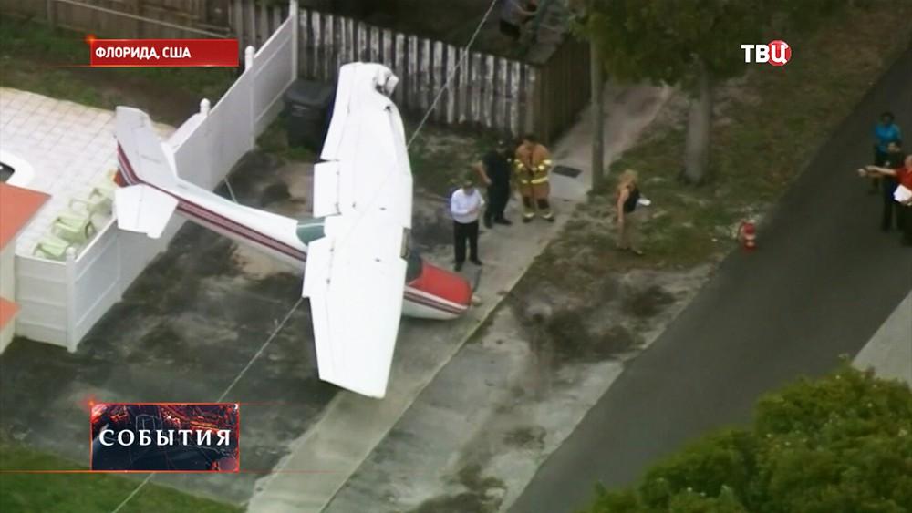 Аварийная посадка самолета Cessna 172